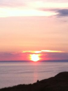 Another fabulous sunset from the balcony