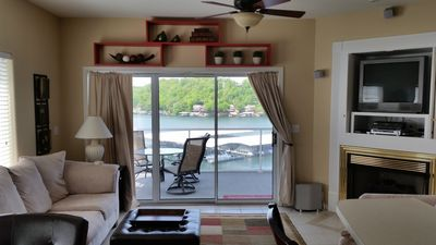 Photo for Beautiful Waterfront 3B/2B Lake Condo at Monarch Cove - WiFi/Boat Slip included!