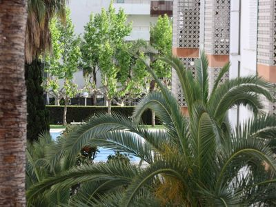 Photo for Apartment Salou - Port Aventura - Sea front with pool
