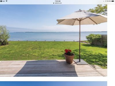 Photo for Sag Harbor Waterfront Cottage