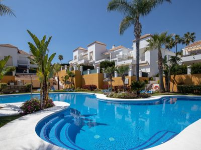 Photo for Luxury Marbella apartment , ideal for all types of holidays - sleeps 6