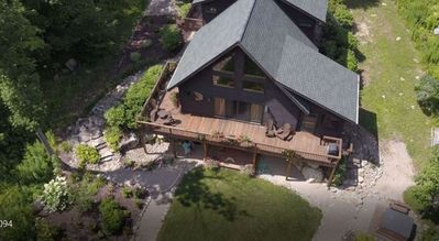 Fisherman's Paradise on ten secluded acres along the Ausable River