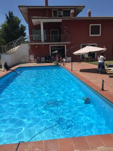 Photo for Panoramic villa with pool 12 km from ovindoli