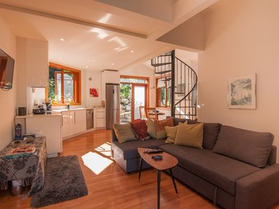 Photo for Deep Cove Creekside, Ocean View Retreat