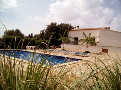 Photo for Friendly villa with private pool, wifi connection, barbecue and mountain views