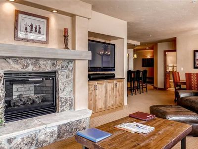 Photo for Gorgeous Slopeside Summer Condo w/Ample Space & Balcony!
