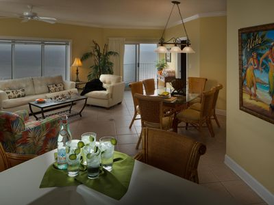 Photo for Cozy Condo near Beach w/ WiFi, Balcony, Resort Pool, Grills & Fitness Area