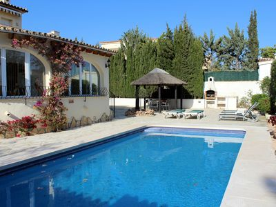 Photo for Villa in Moraira with Heated Private Pool