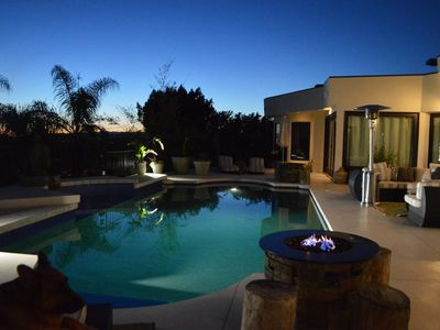 Photo for Luxury Beverly Hills Huge Estate With Saltwater Pool, Fire Pit, and Hot Tub!