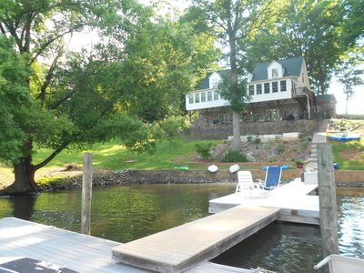 Photo for Charming Lake Norman Home (Lower Level) with Private Slip, Kayaks & Main Channel