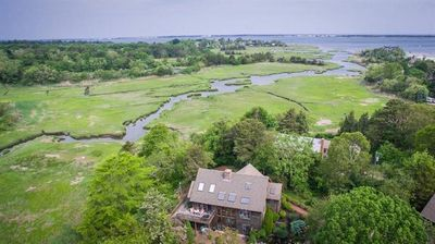 Photo for Panoramic water views & privacy!  Secluded, yet close to everything.  Pets considered.