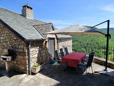 Photo for Stunning Valley Views from our 3* Gîte bordering the Cévennes and Grands Causses