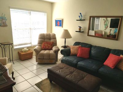 Photo for 2 BR 1 1/2 Bath, Canal front, Residential Neighborhood, Quiet & Peaceful