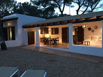 Photo for CHARMING HOUSE IN FORMENTERA 100 METERS FROM THE BEACH OF MITJORN
