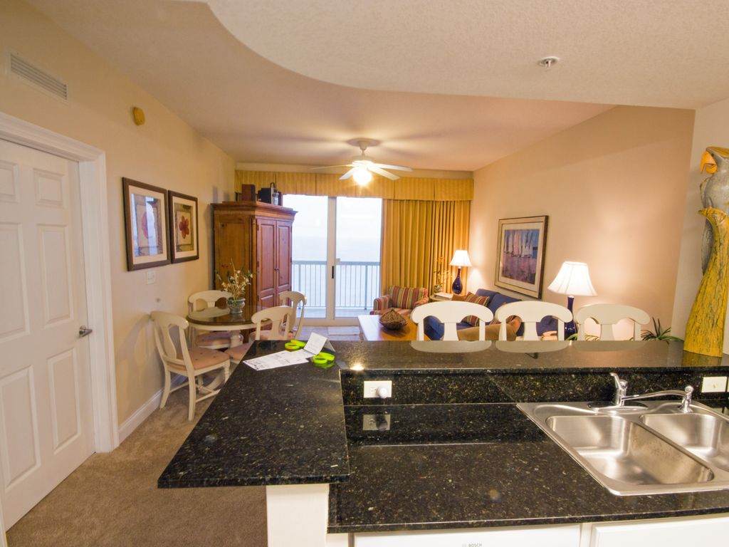 1405W Calypso, 14th Floor: 1 BR With 2 Reserved Beach Chairs/1 ...