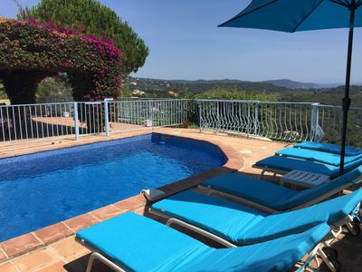 Photo for Panoramic Sea Views 4 Bed, 2 Bathroom Villa, Ideal family beach holiday