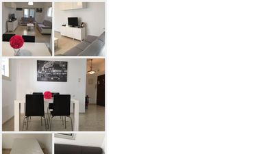 Photo for 3 bedroom apartment 5 mins from the kikar