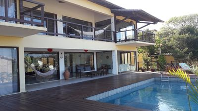 Photo for A luxury 5 bedroom villa with pool  close to the main street and beach