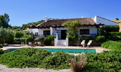Photo for Beautiful holiday villa with private pool in Málaga's hinterland