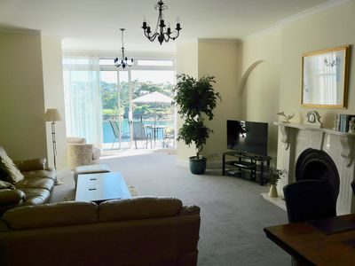 Photo for 5 star - Amazing views of Estuary and Sea - Prime Position with parking and WiFi