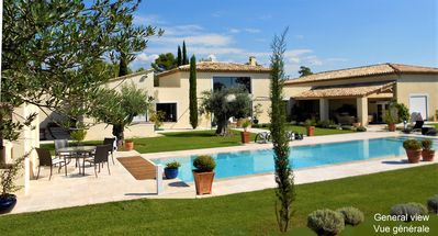 Photo for Luxurious Villa on one level, (handicapped accessible), in the heart of Provence!