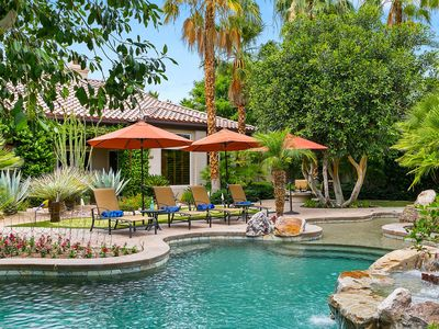 Photo for 'Casa Azul' A Tropical Oasis at PGA West, Pool, Spa, Firepit