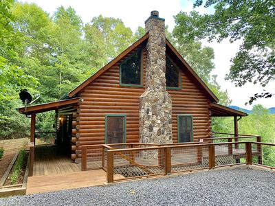 Photo for BLACK BEAR HIDEAWAY - COUPLE & FAMILY FRIENDLY - SPECIAL LOFT BEDS FOR THE KIDS!