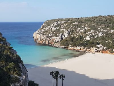 Photo for Apartment in Menorca, in the CALA IN PORTER
