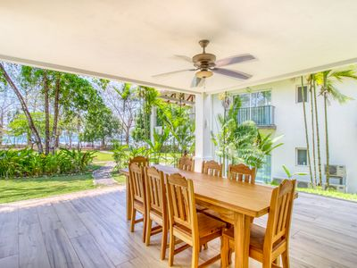 Photo for New beautiful beachfront condo steps away from a world class surf break