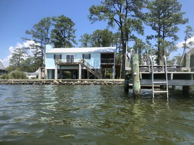 Photo for Waterfront cottage with Million Dollar Views!