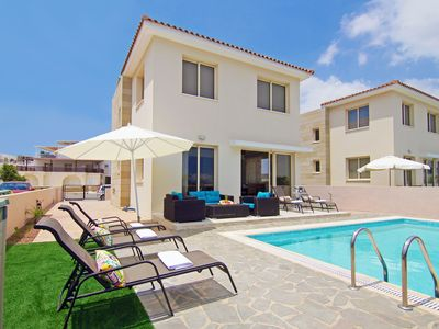 Photo for AGATHA - 3bed Villa, Center of Kapparis, Walking Distance to Beach and Resort Amenities