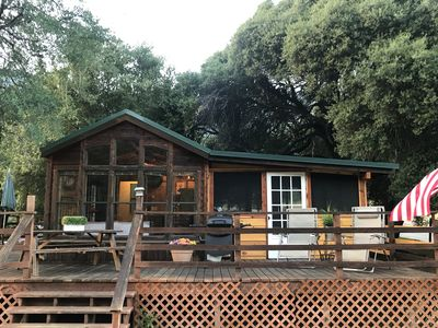 Photo for SEQUOIA JAW DROPPING VIIEW SECLUDED CABIN