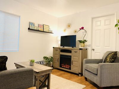 Photo for Green Door Cottage-Dog Friendly-3 blocks to beach!