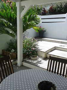 Photo for F2 furnished, spacious, comfortable, terrace, private entrance and garden, DIDIER