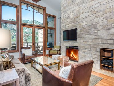 Photo for Modern Penthouse Condo 3 Blocks from Main Street with Rooftop hot tub, Mountain Views