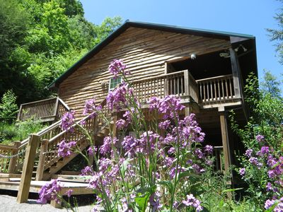 Photo for A Getaway with Magnificent Water Falls, Hiking Trails, on a Large Private Estate