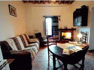 Photo for Rural apartment for 4 people El Huerto de Lobras