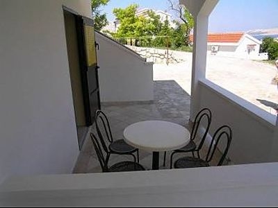 Photo for Apartment Here  B4(4+2)  - Pag, Island Pag, Croatia