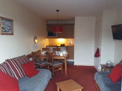 Photo for T2 comfortable apartment sleeps 4/5 near the Thermes and the Cable Car