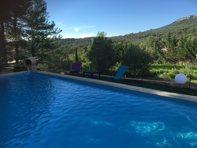 Photo for BEAUTIFUL VILLA WITH SWIMMING POOL 10 minutes from Aix en Provence
