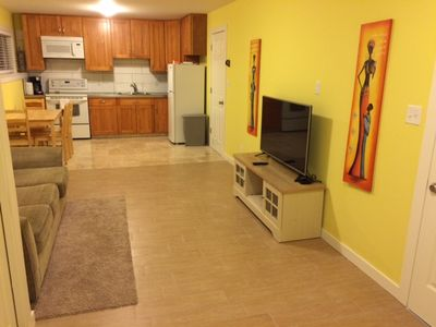 Photo for Short Term Rental -  Black Mountain, 1 Bdm + Mud Room Bright Basement Suite