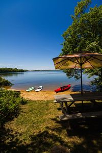 Photo for Waterfront Fort Pond, beach for kayaks, paddle boards, VERY central. 18-1,062
