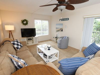 Photo for Two Bedroom Condo on the First Living Level, Located off of Middle Gulf Drive - Sanibel Surfside 214