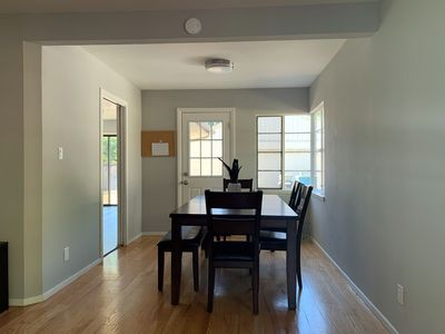 Photo for Newly remodeled house close to google stanford and facebook, EZ commute! 4Bed-2b