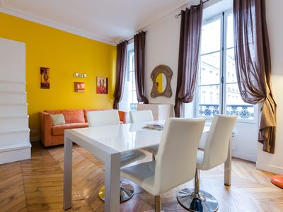 Photo for Beautiful apartment in the heart of the Marais