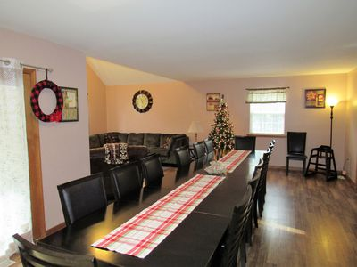 Photo for Large home for 22/24 guests, Indoor Hot Tub/Game Room/Fire Pit, Near Camelback!