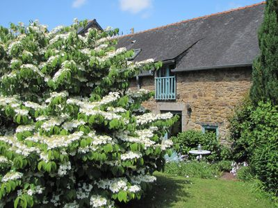 Photo for High Quality Traditional Gite for 2 in Gomene central Brittany with pool & WIFI