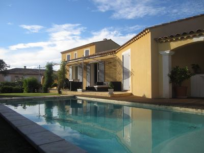 Photo for PROVENCAL VILLA IN THE HEART OF THE ALPILLES - MOURIES - SWIMMING POOL - CLIMATISEE - 200 m2