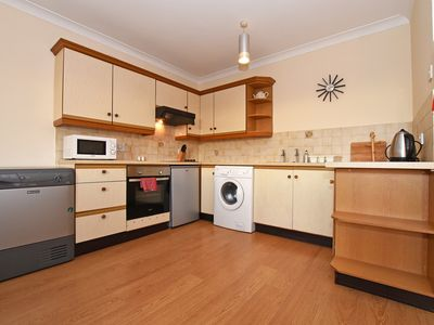 Photo for Spacious First Floor 2 bed apartment with views of the Farne Islands.