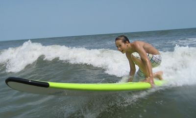 Surf Boarding in Hilton Head